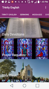 Trinity English Lutheran - screenshot