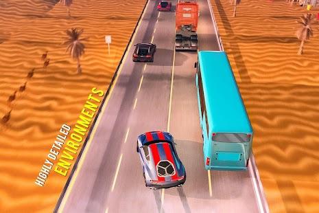 🏎️ Traffic Car Highway Rush Racing