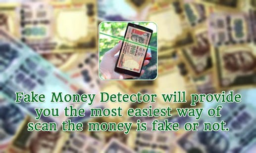 Fake Money Detector - screenshot