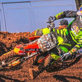 Motocross by Dirk Luus - Sports & Fitness Motorsports ( mud, motorbike, motocross, motorcycle, dirt, motorsport )