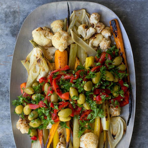 Giardiniera Roasted Vegetables
