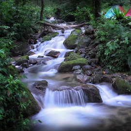 River of Nokilalaki by Arya Fianto - Landscapes Waterscapes ( indonesia, palu, long exposure, landscape, rivers, slow speed, photography )