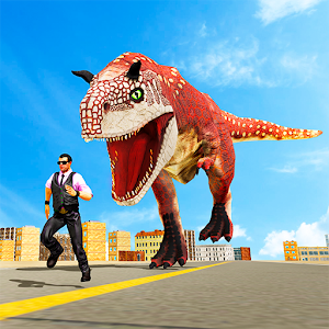 Angry Dinosaur City Rampage For PC / Windows 7/8/10 / Mac – Free Download