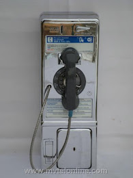 Single Slot Payphones - NY Tel Chrome 1C Westchester loc UP3 1