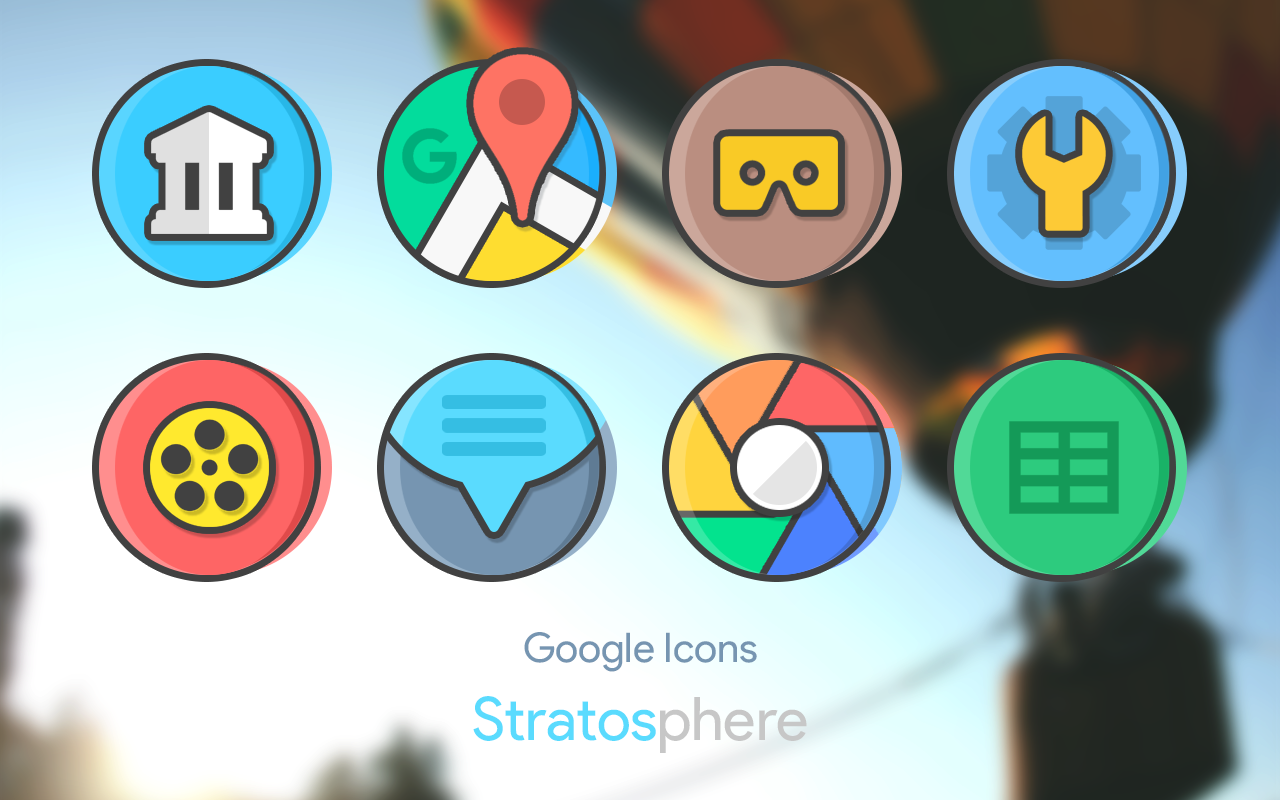 Stratos - Icon Pack Screenshot 1