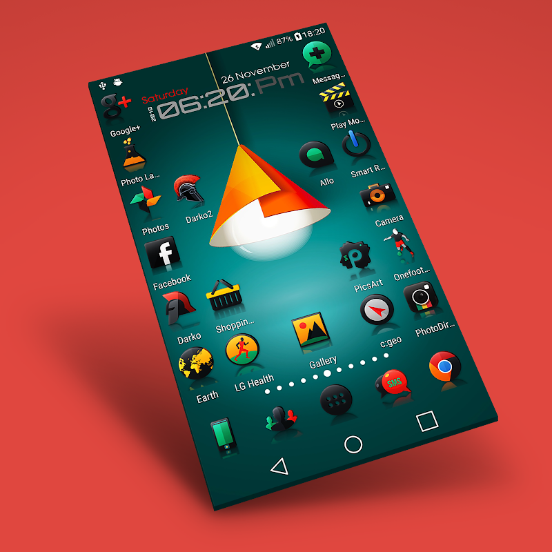 Darko 2 - Icon Pack Screenshot 2