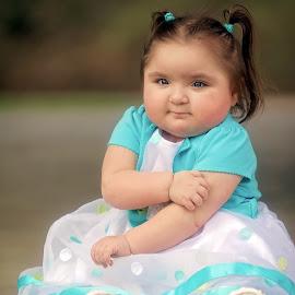 Abby by Tony Bendele - Babies & Children Child Portraits ( child, children, portrait )