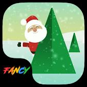 App Santa Clause Fancy Keyboard apk for kindle fire