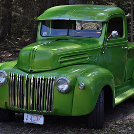 Green Truck by Monroe Phillips - Transportation Other