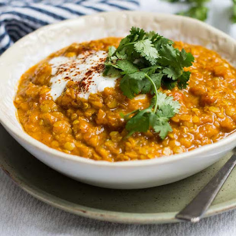 White Girl Dahl (Indian-Spiced Red Lentil, Tomato and Coconut Stew)