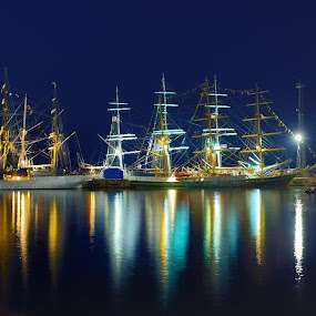 Gdynia by Mirek. Mirek. - Transportation Boats