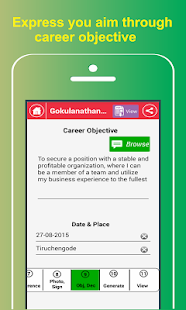 My Resume Builder,CV Free Jobs APK for Bluestacks