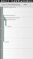 Screenshot of Calendar Pad