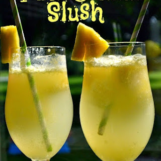 Pina Colada Slush Alcohol Recipes
