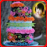birthday cake photo frames Icon