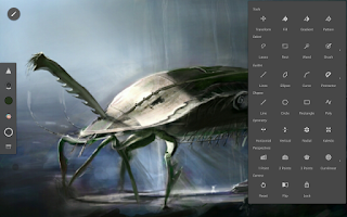 Screenshot of Infinite Painter
