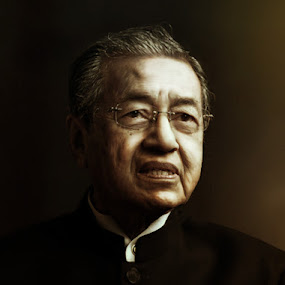 DR M by Hafiz Othman - People Portraits of Men ( prime, malaysian, malay, dr m )