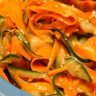 Shredded Cucumber And Carrot Salad Recipes