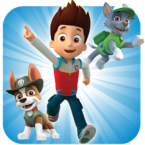 Paw Patrol the runner