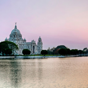 Victoria Under Twilight by Nirupam Roy - Buildings & Architecture Statues & Monuments ( nirupam roy photography unplugged victoria )