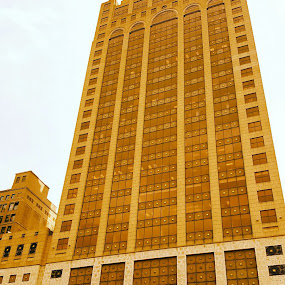 Tall Building by Suzette Christianson - Buildings & Architecture Architectural Detail