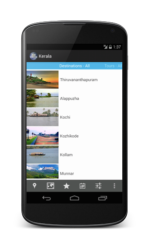 TOP SIGHTS Kerala Screenshot