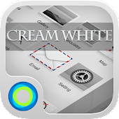 Free Cream White Hola Theme APK for Windows 8