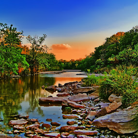 ----------The Plauxy River---------- by Neal Hatcher - Landscapes Waterscapes ( , #GARYFONGDRAMATICLIGHT, #WTFBOBDAVIS )