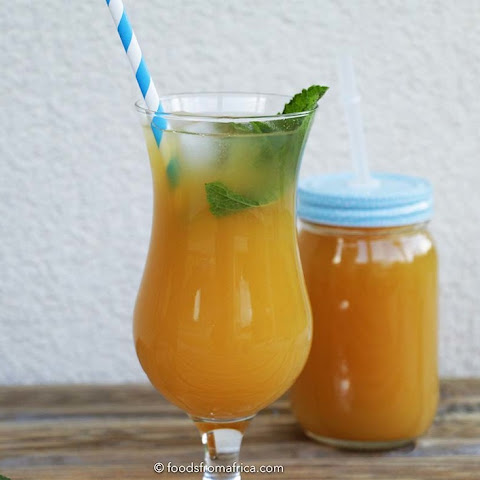 Mango and Lemon Iced Tea