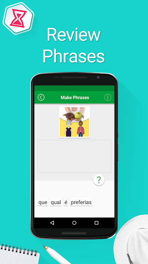 Learn Portuguese Phrases Screenshot 5
