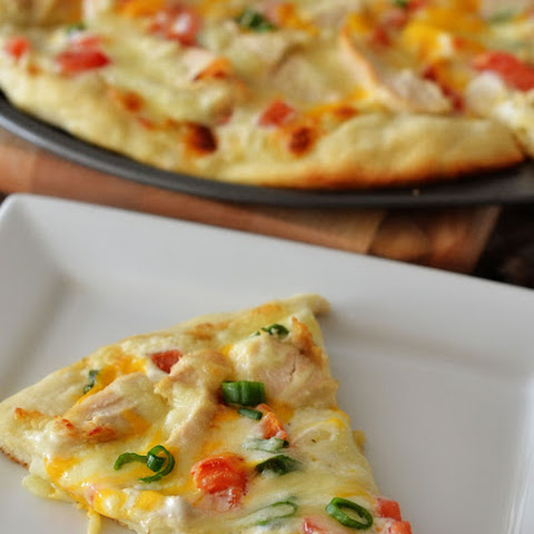 Chicken Ranch Pizza