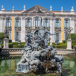 Queluz Palace, Lisbon. by Simon Page - Buildings & Architecture Public & Historical