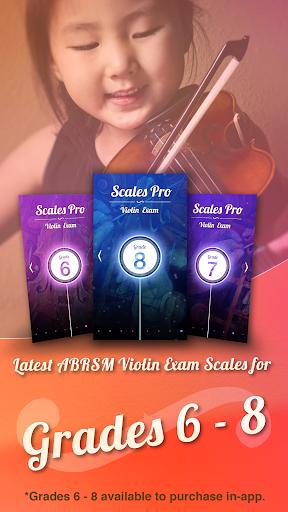 Scales Pro: Violin Exam 6-8 - screenshot