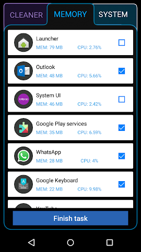 Ancleaner Pro, Android cleaner - screenshot