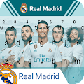 Real Madrid Los Blancos Keyboard Theme