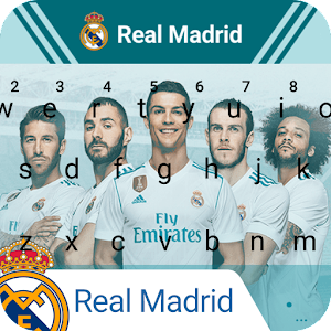 Download Real Madrid Los Blancos Keyboard Theme for PC