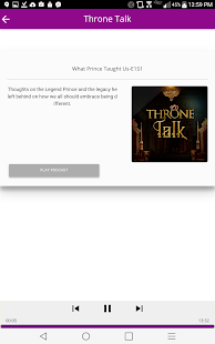 Throne Talk - screenshot