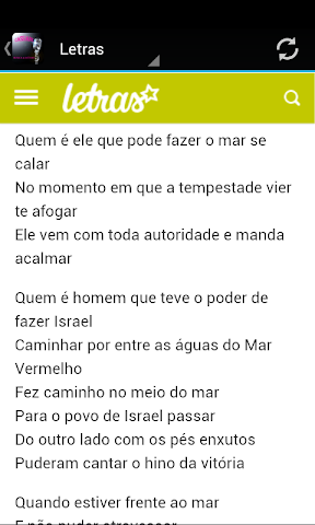 android Cassiane Musica & Letras Screenshot 2