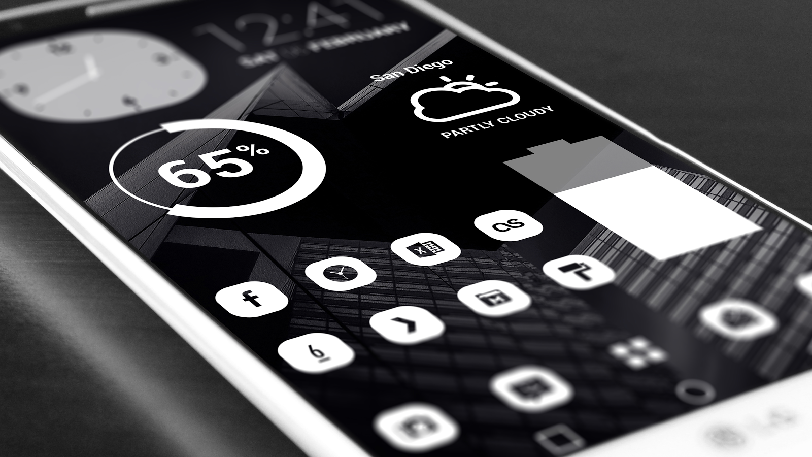 Pasty Pro - White Icon Pack Screenshot 8