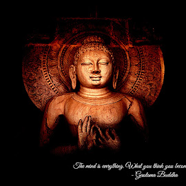 Lord Buddha by SANTANU MAITY - Buildings & Architecture Statues & Monuments