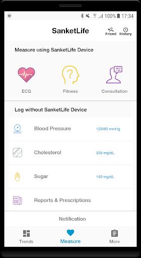 Sanket Life-ECG,Stress,Fitness