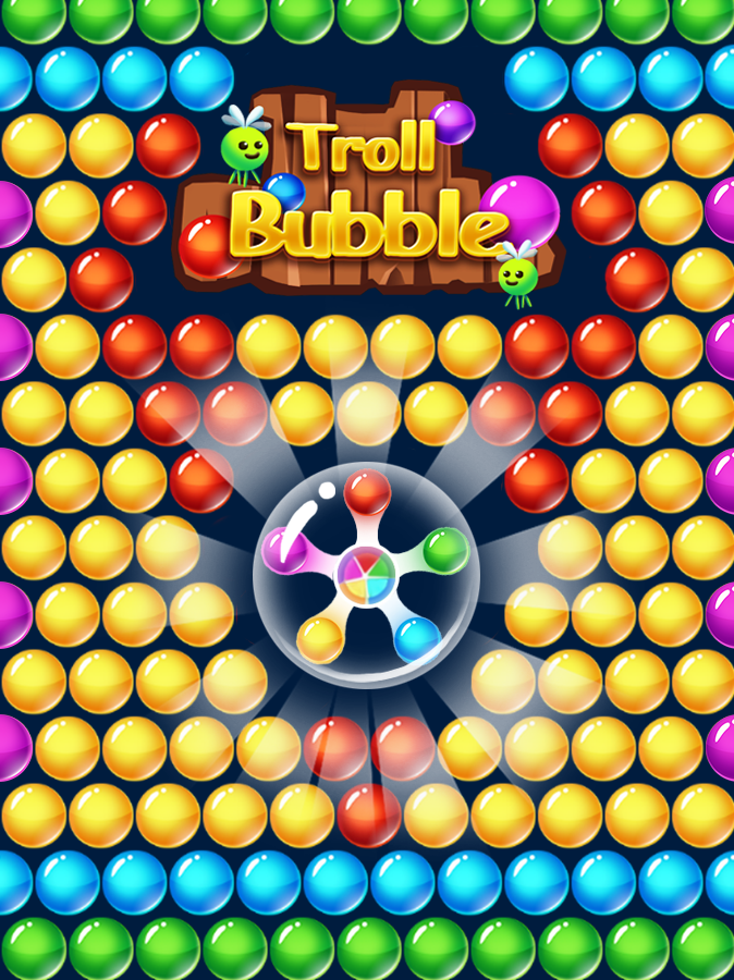 troll dschungel bubble shooter android spiele download. Black Bedroom Furniture Sets. Home Design Ideas