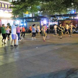Folk Dancing by Dennis  Ng - People Street & Candids (  )