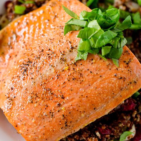 Salmon With Lemon Maple Mustard Sauce Recipe | Yummly