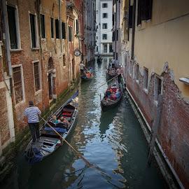 Venezia by Daniel Kopečný - City,  Street & Park  Street Scenes