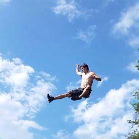 The Sky Is The Limit  by Kelly Bowers - Uncategorized All Uncategorized ( #goals #summerfun #dream #hope #live #adrenaline )