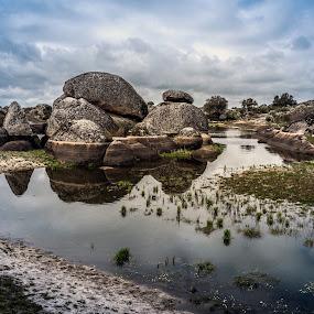 Los Barruecos by Ricardo Figueirido - Landscapes Waterscapes