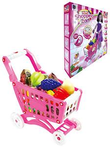 """Игровой набор серии """"Профессии"""", тележка супермаркета, розовая"""