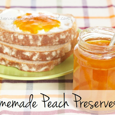 Homemade Peach Preserves