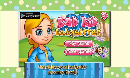 Girl Go Games Bad Kid Babysitter